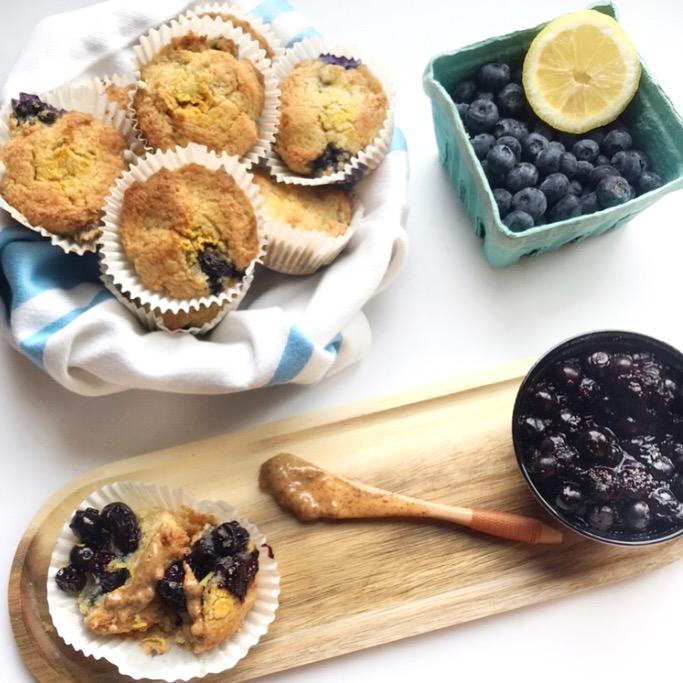 Blueberry Lemon Zest Muffin