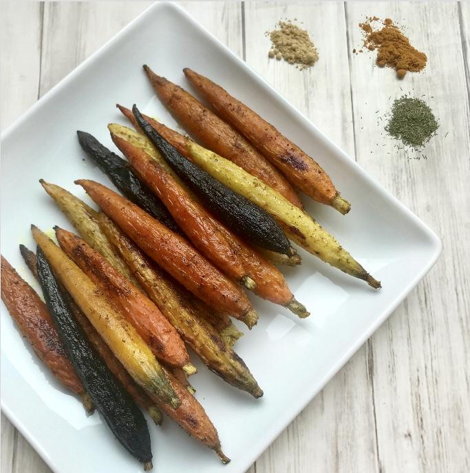 Turmeric Carrots