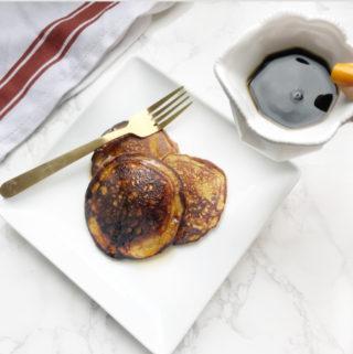 collagen sweet potato pancake